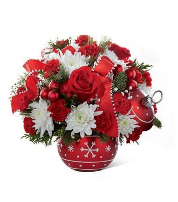 Season's Greetings Ornament Bouquet