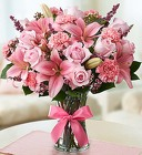 Expressions of Pink From Stellar, your flower shop in Sylvania, OH
