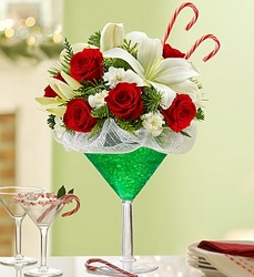 Martini Bouquet Peppermint From Ka'bloom, your flower shop in Sylvania, OH