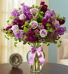 Shades of Purple From Stellar, your flower shop in Sylvania, OH