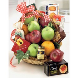 Fruit & Gourmet Basket From Ka'bloom, your flower shop in Sylvania, OH