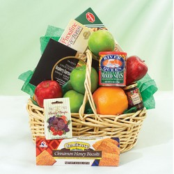 Gourmet Basket From Stellar, your flower shop in Sylvania, OH