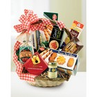 Fruit, Sweets and Treats Basket From Stellar, your flower shop in Sylvania, OH