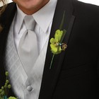 Green Envy Boutonniere From Stellar, your flower shop in Sylvania, OH
