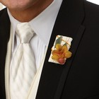 Orchid Frenzy Boutonniere From Stellar, your flower shop in Sylvania, OH