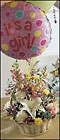 FTD Baby Girl Bouquet with Balloons From Stellar, your flower shop in Sylvania, OH