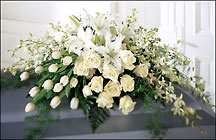 The FTD Ressurection Casket Spray From Stellar, your flower shop in Sylvania, OH
