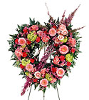 FTD Eternal Rest Heart Wreath From Stellar, your flower shop in Sylvania, OH
