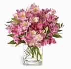 Pink Persuasion Bouquet From Stellar, your flower shop in Sylvania, OH
