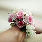 The FTD Pure Grace Wrist Corsage From Stellar, your flower shop in Sylvania, OH