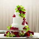 The FTD Elegant Orchid Cake Décor From Stellar, your flower shop in Sylvania, OH