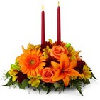 The FTD Bright Autumn Centerpiece From Stellar, your flower shop in Sylvania, OH