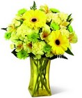 Lemon Groove Bouquet From Stellar, your flower shop in Sylvania, OH