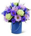 The FTD Color Your Day With Tranquility Bouquet  From Stellar, your flower shop in Sylvania, OH