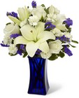 Beyond Blue Bouquet From Stellar, your flower shop in Sylvania, OH