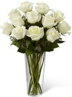 The FTD White Rose Bouquet From Stellar, your flower shop in Sylvania, OH