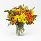 Warm Amber Bouquet From Stellar, your flower shop in Sylvania, OH