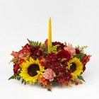 Giving Thanks Candle Centerpiece From Stellar, your flower shop in Sylvania, OH
