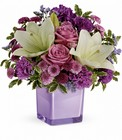 Teleflora's Pleasing Purple Bouquet From Stellar, your flower shop in Sylvania, OH